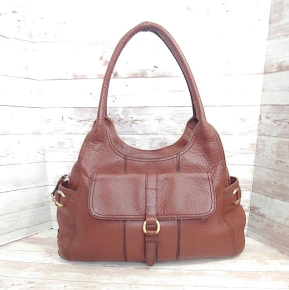 Cole Haan leather hobo satchel handbag